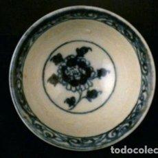 Antigüedades: ANTIGUO BOLL CHINO DINASTÍA MING , FLORES. Lote 108909087
