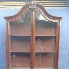 Antigüedades: ESPECTACULAR VITRINA PP. SIGLO XX TIPO HOLANDES. Lote 108923839