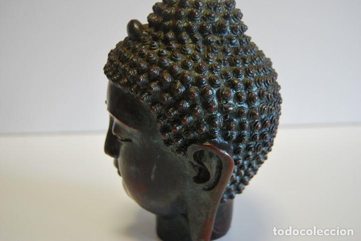 Antigüedades: Cabeza Buda - Foto 5 - 108930771