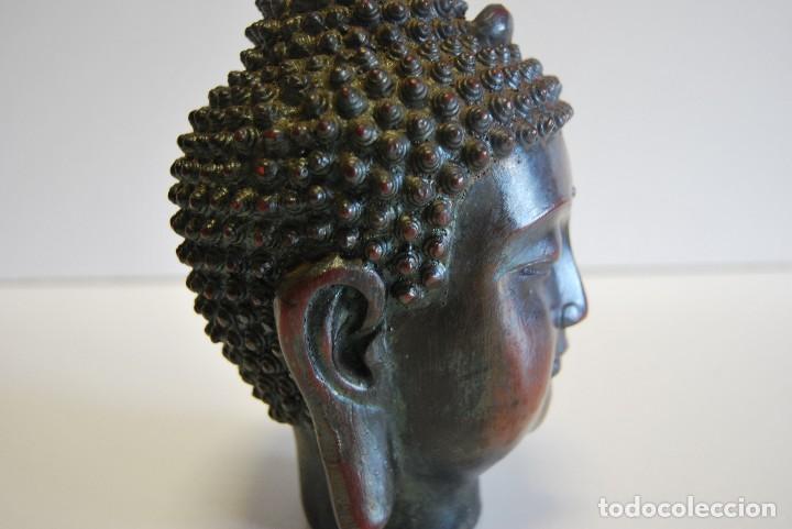 Antigüedades: Cabeza Buda - Foto 7 - 108930771