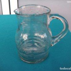 Antigüedades: JARRA DE CRISTAL TALLADO DE SANTA LUCÍA.. Lote 108936211