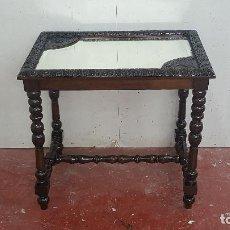 Antigüedades: MESA AUXILIAR DE FINALES DE S XIX. Lote 108978239