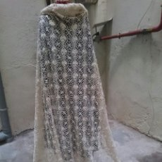 Antigüedades: COLCHA DE BOLILLOS. Lote 108978556