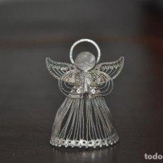 Antigüedades: ANGEL DE PLATA DE 990 , IDEAL PARA BELÉN . Lote 108989307