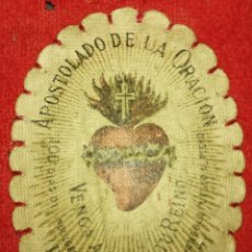 Antiquitäten - Antiguo escapulario - año 1877 - 109034843