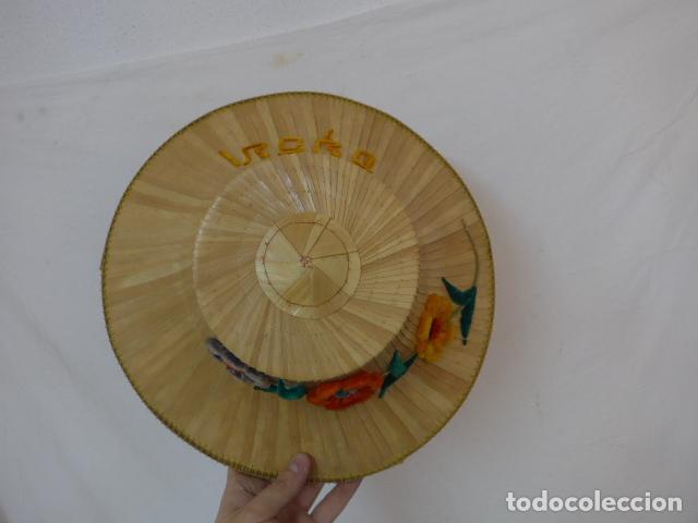 Antigüedades: Antiguo gorro o sombrero de thailandia, original. Gorra. - Foto 4 - 109048039