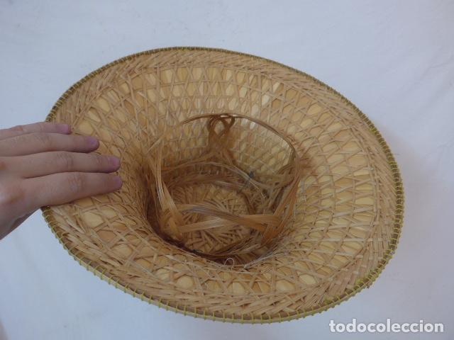 Antigüedades: Antiguo gorro o sombrero de thailandia, original. Gorra. - Foto 6 - 109048039