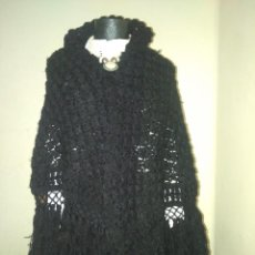 Antigüedades - Mantón toquilla de lana para indumentaria tradicional - 109048671