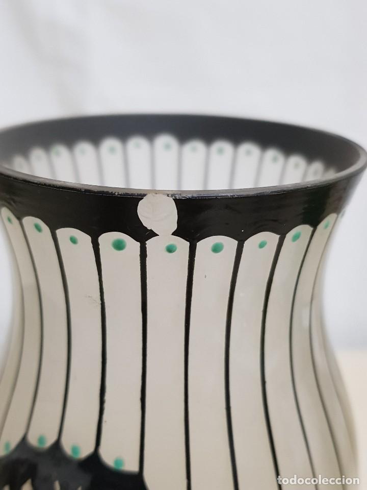Antigüedades: Florero de cristal - Foto 2 - 109052359