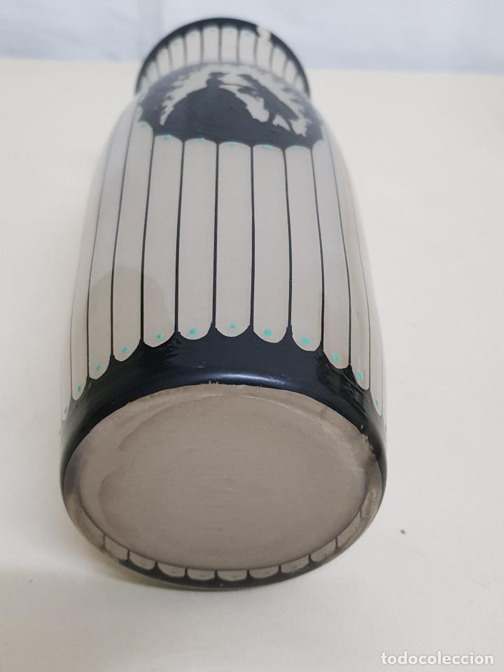 Antigüedades: Florero de cristal - Foto 3 - 109052359