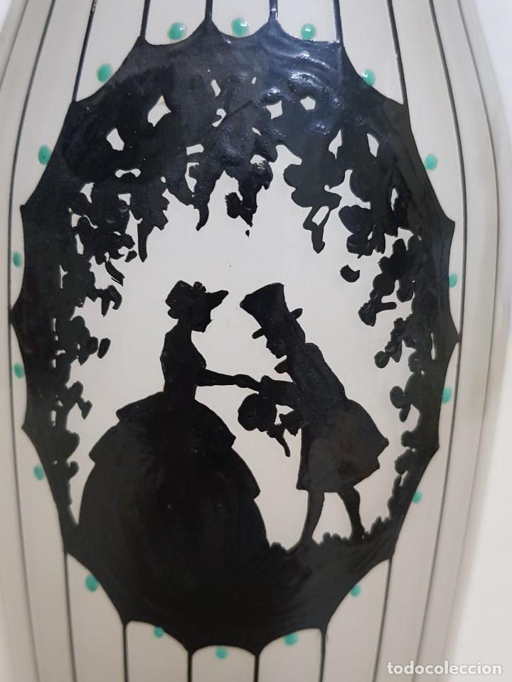 Antigüedades: Florero de cristal - Foto 4 - 109052359