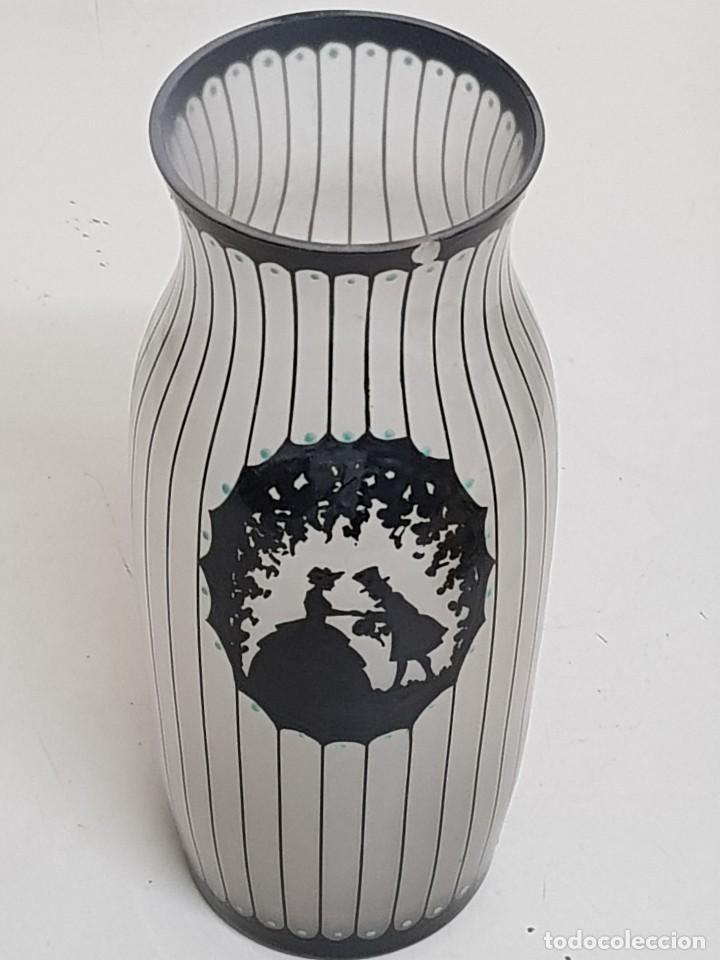 Antigüedades: Florero de cristal - Foto 5 - 109052359