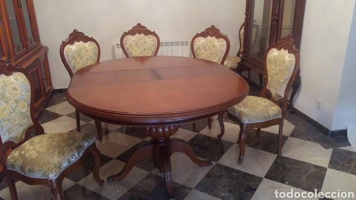 mesa y sillas comedor - Kaufen Antike Tische in todocoleccion ...