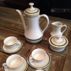 Antigüedades: JUEGO CAFE ROYAL CHINA VIGO. Lote 109073244