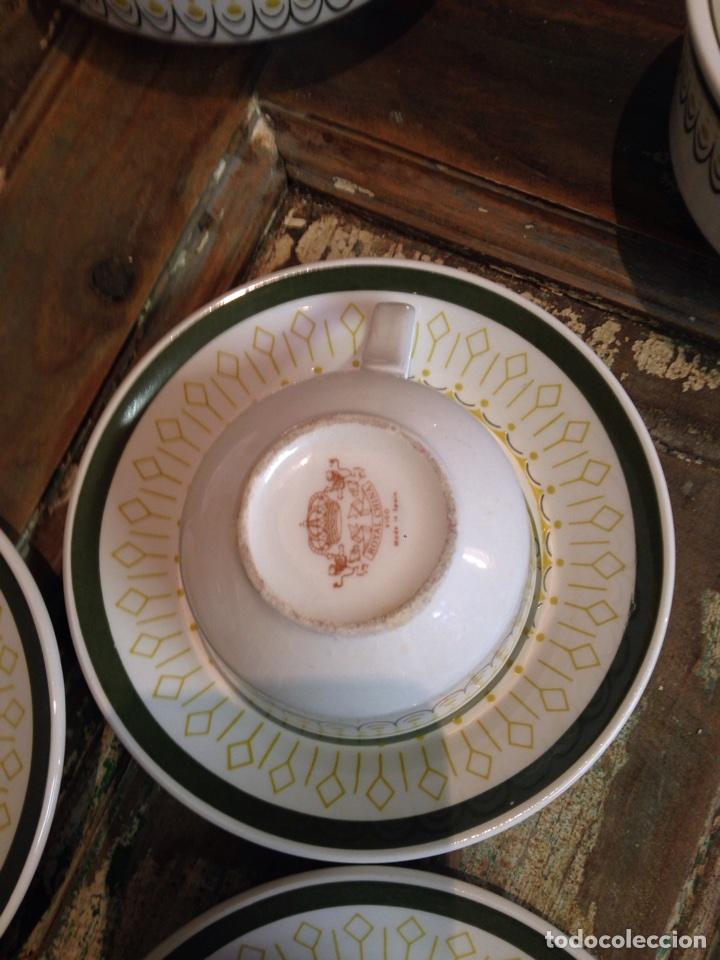 Antigüedades: Juego cafe Royal china vigo - Foto 3 - 109073244