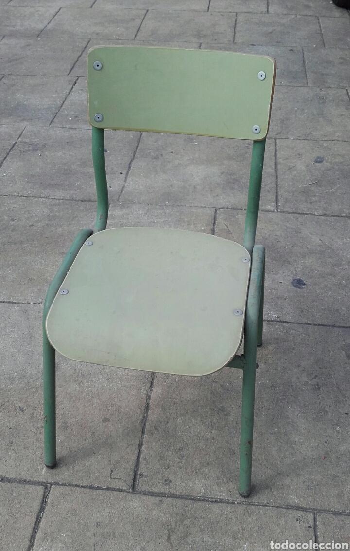 Silla escolar de ni os a os 60 aprox comprar sillas - Sillas anos 60 ...
