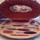 Antigüedades: ANTIGUO SET MANICURA MUJER. Lote 109087970