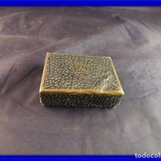 Antigüedades: CAJA ESTUCHE DE CARTON ANTIGUA LOEWE. Lote 109100687