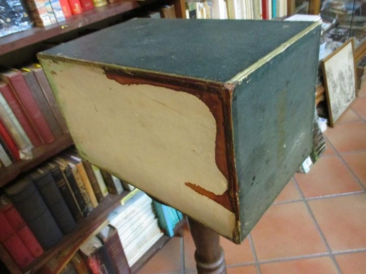 Antigüedades: ANTIGUO EXPOSITOR DE HILOS HILATURAS DE FABRA Y COATS - COMETA 39*22*24cm + info - Foto 3 - 20871078