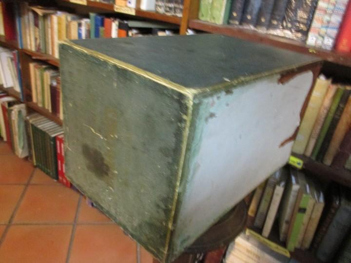 Antigüedades: ANTIGUO EXPOSITOR DE HILOS HILATURAS DE FABRA Y COATS - COMETA 39*22*24cm + info - Foto 4 - 20871078