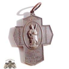 Antigüedades: MEDALLA HERMANDAD SAN CASIANO 4,5 X 3,4 CM. Lote 109114431