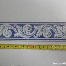 Antiquitäten - Antigua cenefa - motivos florales - ABS - 109115279