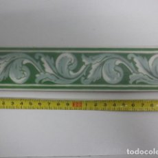 Antigüedades: ANTIGUA CENEFA - MOTIVOS FLORALES - ABS. Lote 109115403