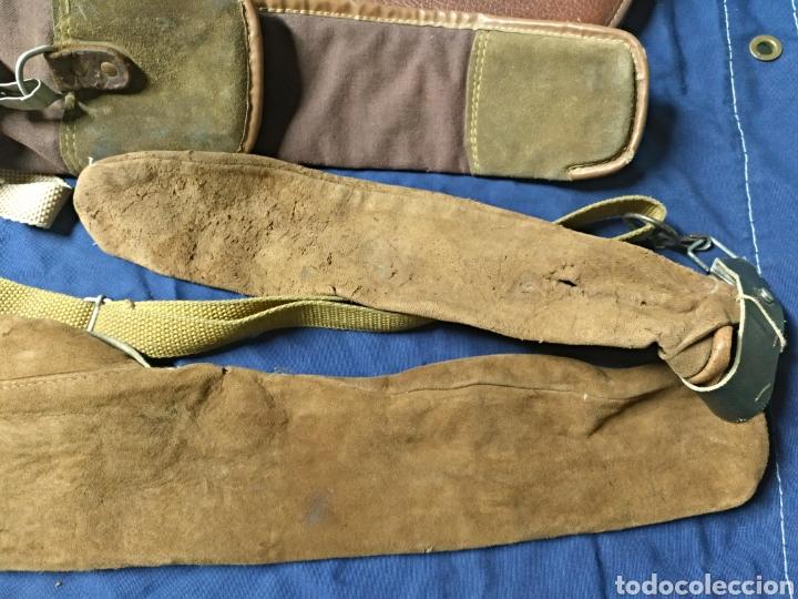 Antigüedades: Lote 3 fundas escopeta de caza - Foto 3 - 118137284