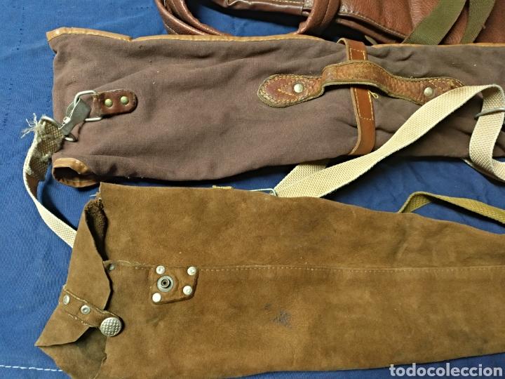 Antigüedades: Lote 3 fundas escopeta de caza - Foto 4 - 118137284