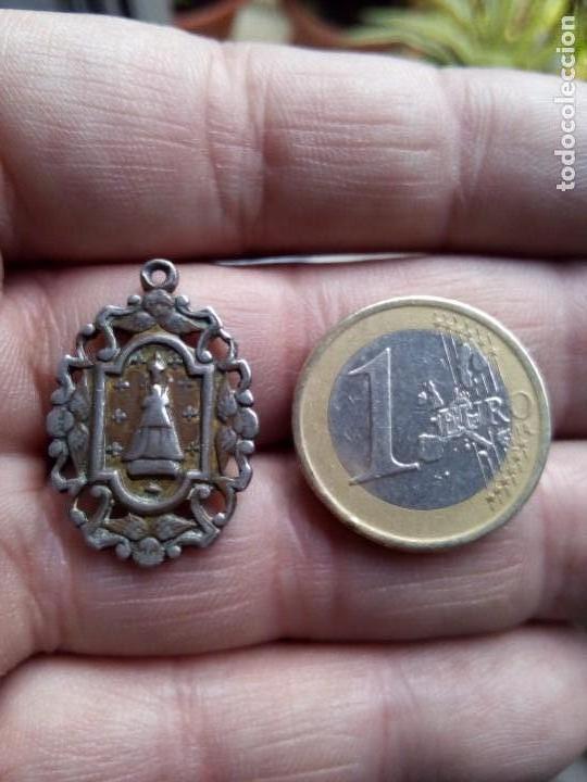 Antigüedades: Medalla antigua patrona de catalunya - Foto 3 - 109145155