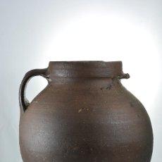 Antigüedades: OLLA MIELERA DE BARRO CON PECULIARIDAD - CÁNTARO, LOZA, RÚSTICO, MIEL. Lote 109153219