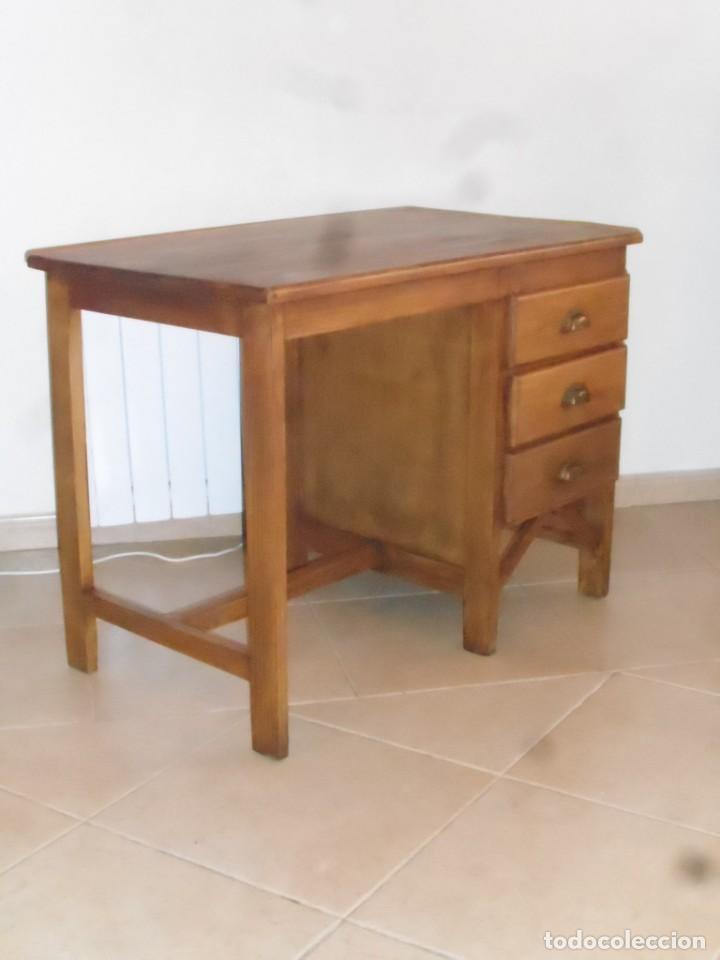 Mesa mueble escritorio tipo industrial ideal pa comprar for Mueble de pared industrial