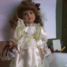 Muñecas Porcelana: MUÑECA NOVIA PORCELANA. Lote 109199231