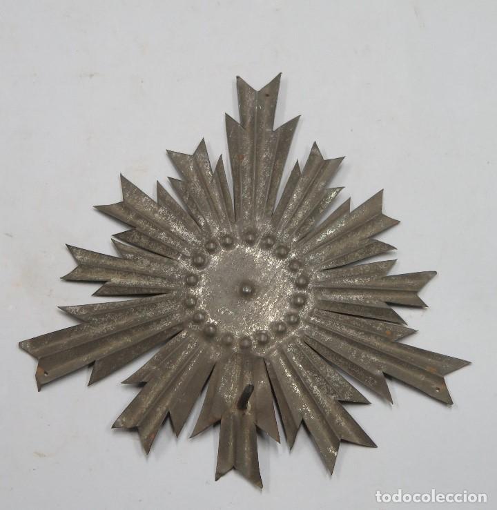 ANTIGUA CORONA PARA IMAGEN. SIGLO XIX (Antigüedades - Religiosas - Ornamentos Antiguos)