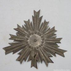 Antigüedades: ANTIGUA CORONA PARA IMAGEN. SIGLO XIX. Lote 109209955