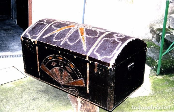BAÚL ANTIGUO (Antigüedades - Muebles Antiguos - Baúles Antiguos)