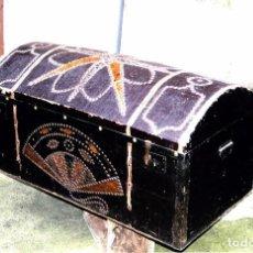 Antigüedades: BAÚL ANTIGUO. Lote 75056451