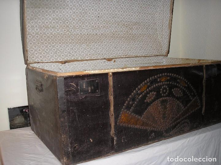 Antigüedades: Baúl antiguo - Foto 2 - 75056451
