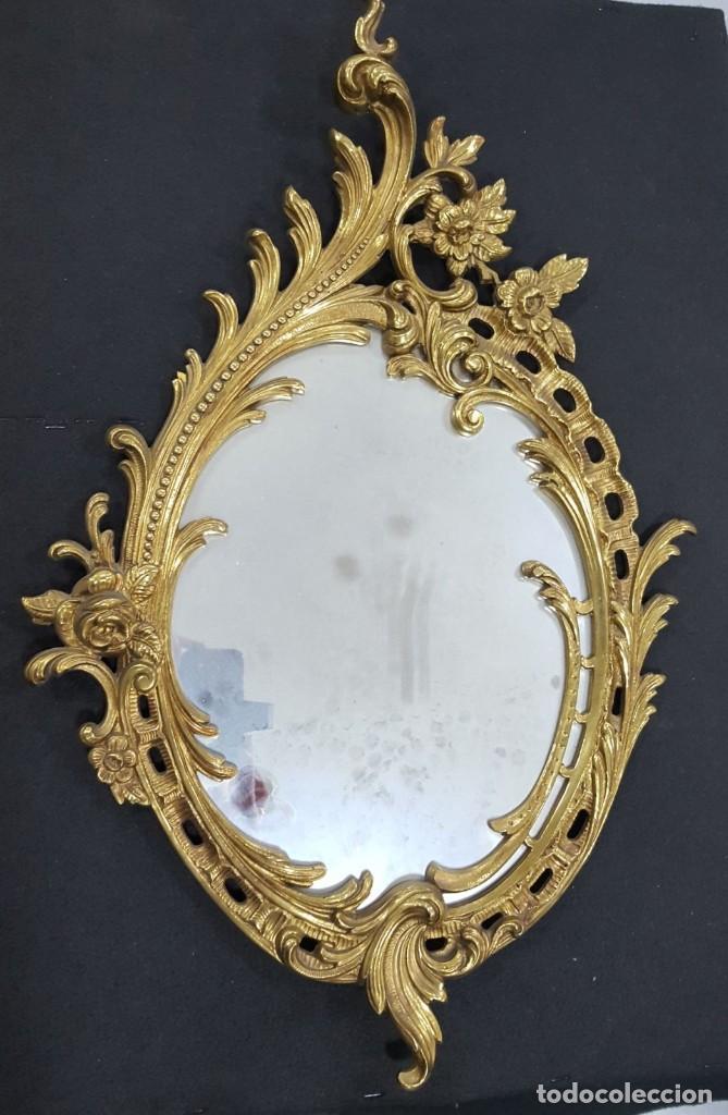 Espejo barroco rococ bronce comprar espejos antiguos en for Espejo barroco