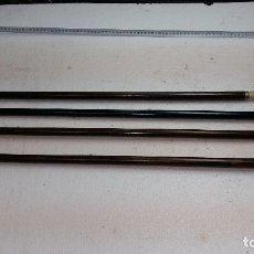 Antigüedades: 4 BASTONES ANTIGUOS, 2 CON MANGO DAÑADO.. Lote 109267543