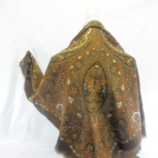 Antigüedades: 11009 PAÑUELO PAÑOLETA ESTAMPADA MANTON MANTONCILLO FOLK. Lote 109277187
