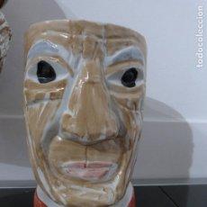 Antigüedades: SARGADELOS JARRA DE PABLO PICASSO. PIEZA DE LUIS SEOANE. NUMERADA.. Lote 109292399