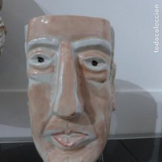 Antigüedades: SARGADELOS JARRA ANTONIO MACHADO. PIEZA DE LUIS SEOANE. NUMERADA.. Lote 109292519
