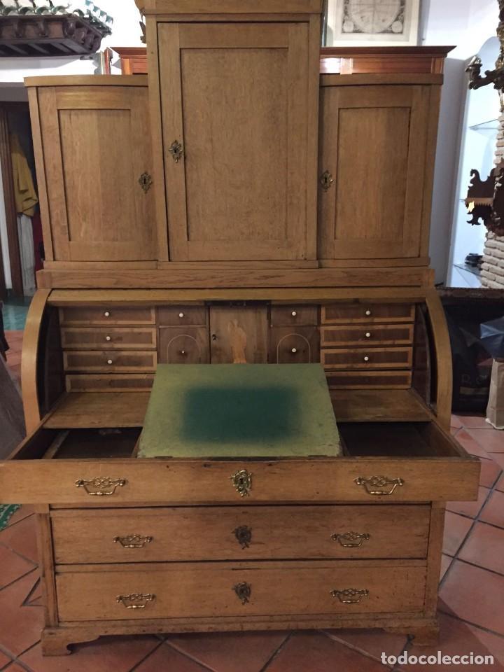 Antigüedades: Buro comoda escritorio siglo XIX - Foto 2 - 109297595