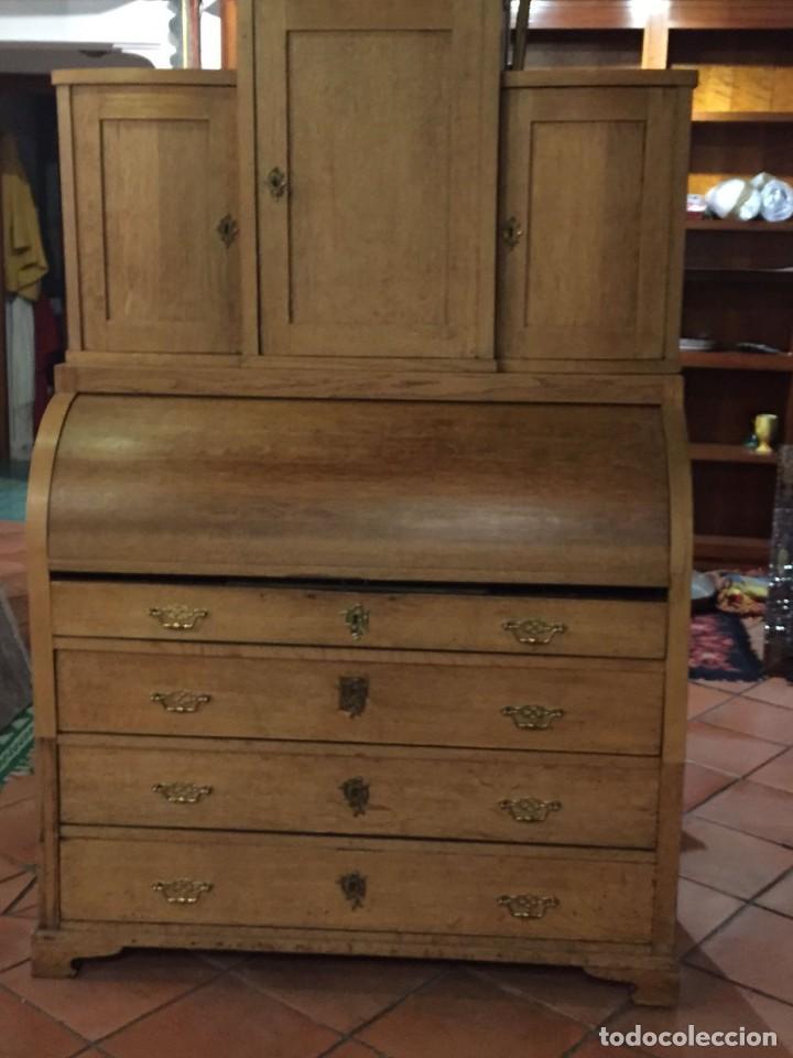 Antigüedades: Buro comoda escritorio siglo XIX - Foto 3 - 109297595