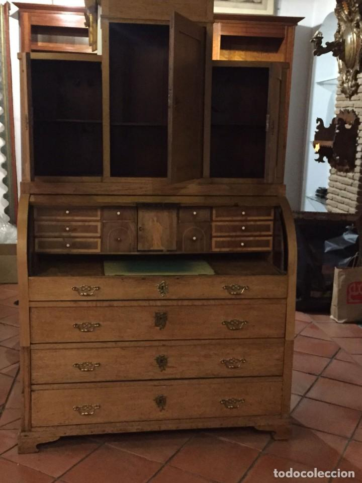 Antigüedades: Buro comoda escritorio siglo XIX - Foto 4 - 109297595