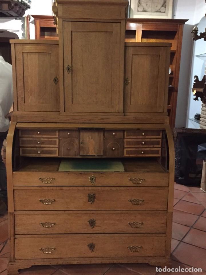 Antigüedades: Buro comoda escritorio siglo XIX - Foto 5 - 109297595