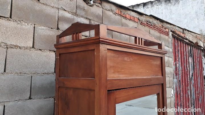 Antigüedades: Armario antiguo estilo modernista. Armario ropero con espejo art decó nouveau retro vintage - Foto 7 - 109319111