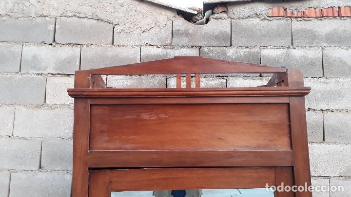 Antigüedades: Armario antiguo estilo modernista. Armario ropero con espejo art decó nouveau retro vintage - Foto 8 - 109319111