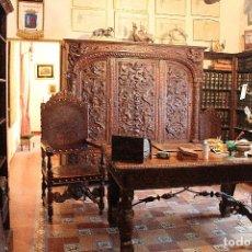 Antigüedades: FABULOSO DESPACHO NOGAL ESPAÑOL.. Lote 109319243